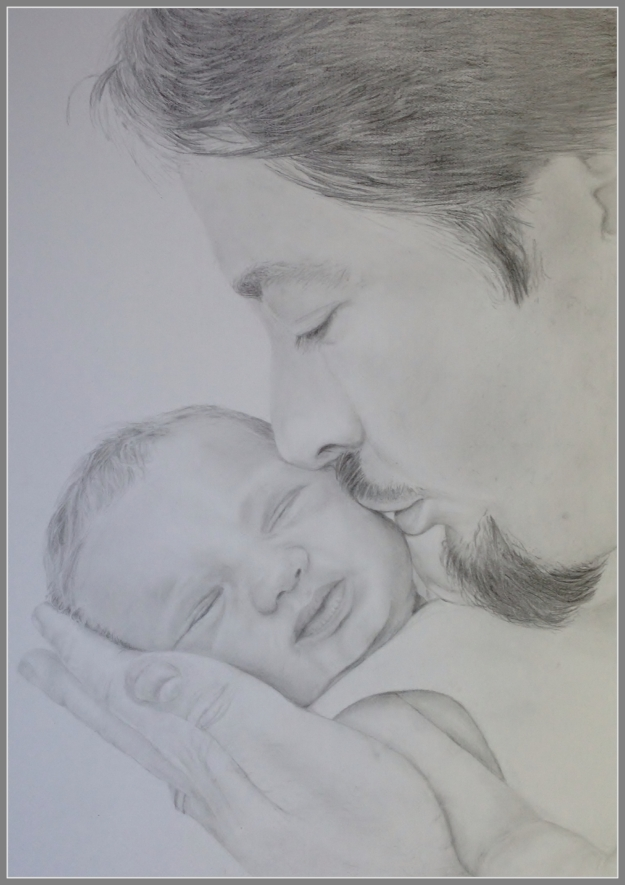 Father and Daughter - By Helen Lock