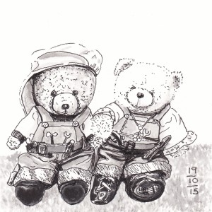 All About The Bears - #Inktober 19
