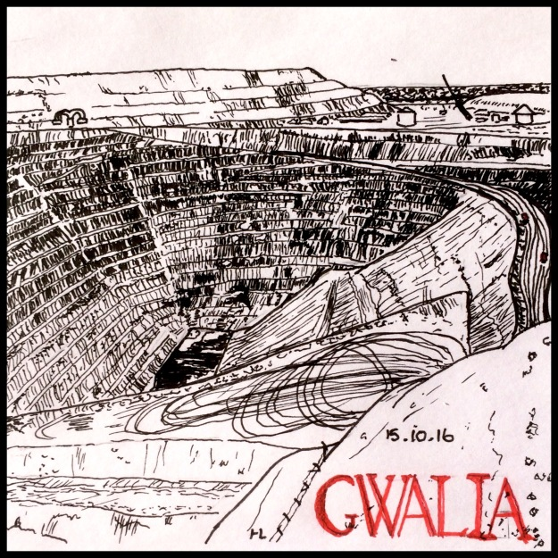 Gwalia Gold Mine - #Inktober2016