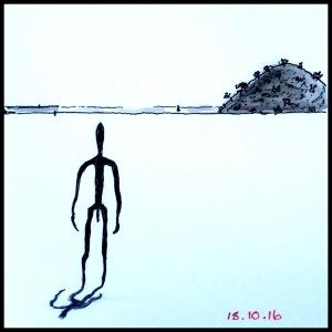 Lake Ballard - #Inktober2016