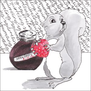 Squirreling - #Inktober2016