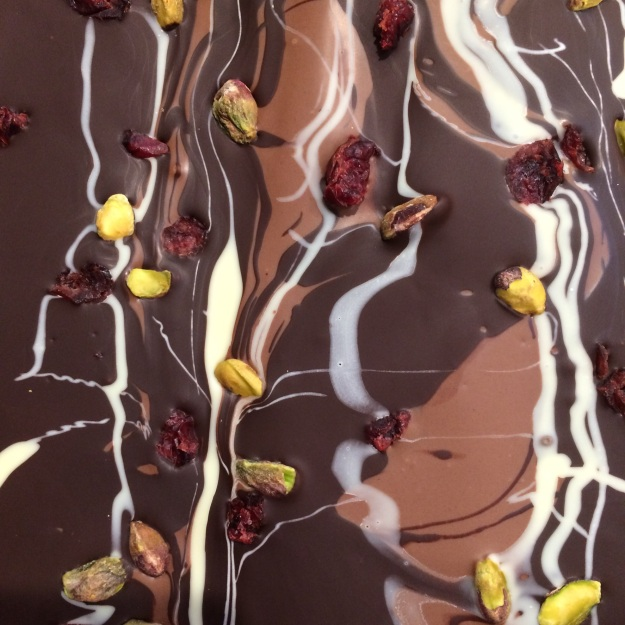 Chocolate Bark - Helen Lock