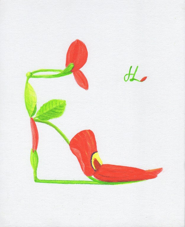 Flower Shoe 2